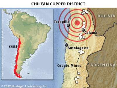 """State of exception"" in quake-stricken Chile"