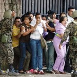 National Guard on the loose in Honduras