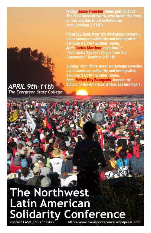NW Latin America Solidarity Conference