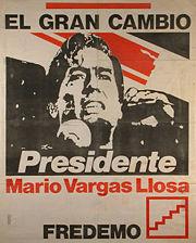 GOAL FOR LATIN AMERICA: Mario Vargas Llosa Scores a Nobel
