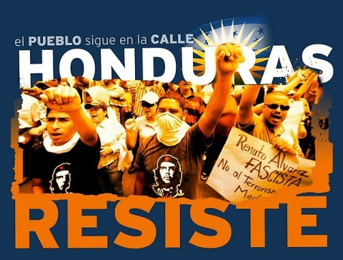 Importance of the Resistance national assembly in Honduras