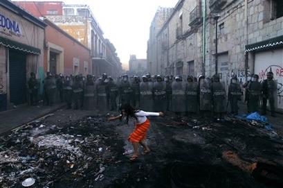 Oaxaca as a 'Laboratory of Repression'