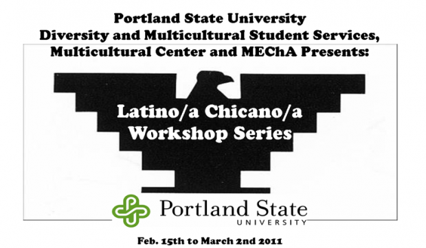 Latino/a  Chicano/a Workshop Series