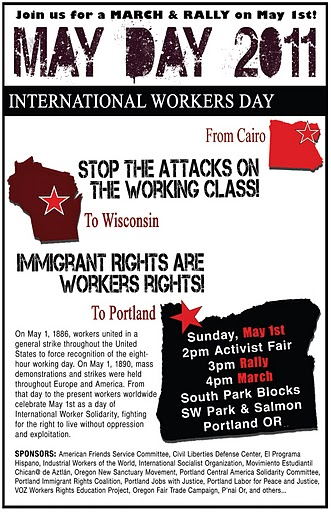 May Day 2011 Rally & March!!!