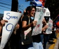 "Transnational Movement ""Encachimbados"" Brings Occupy Protests to El Salvador"