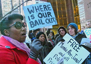 Occupy movement challenges prison-industrial complex