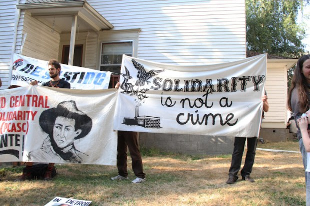 GM Hunger Strike Rally Proves Occupy Fueling High Endurance Solidarity Machine