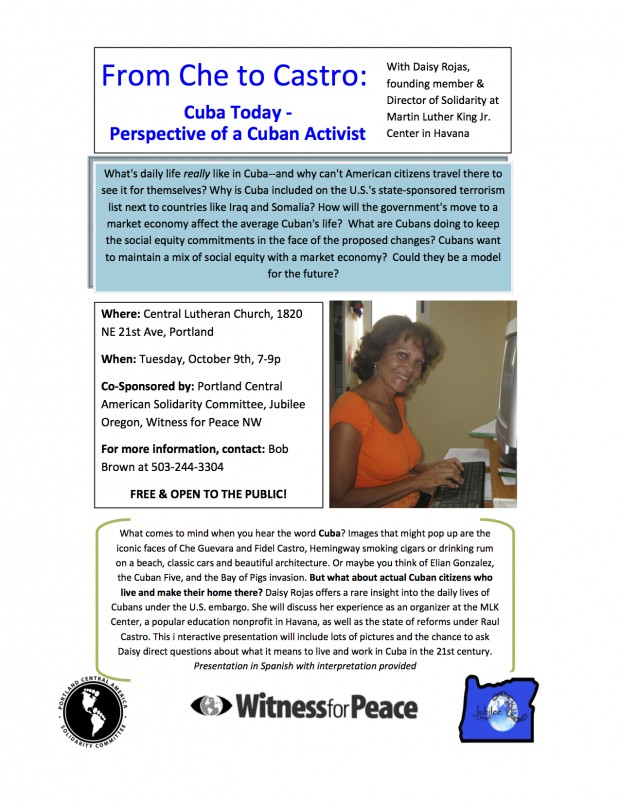 From Che to Castro – Cuba Today – Perspective of a Cuban Activist