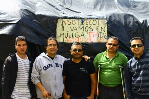 Tell Mayor of Bogota, Colombia, Don't Evict Injured GM Workers!