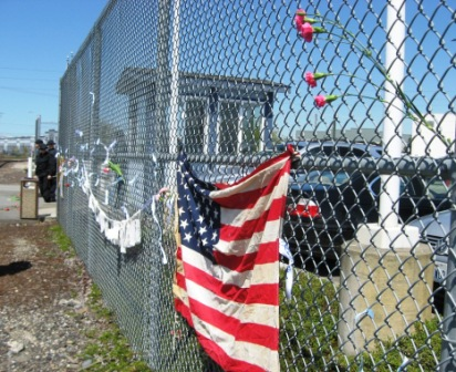 Mothers' Day Vigil at Tacoma Detention Center