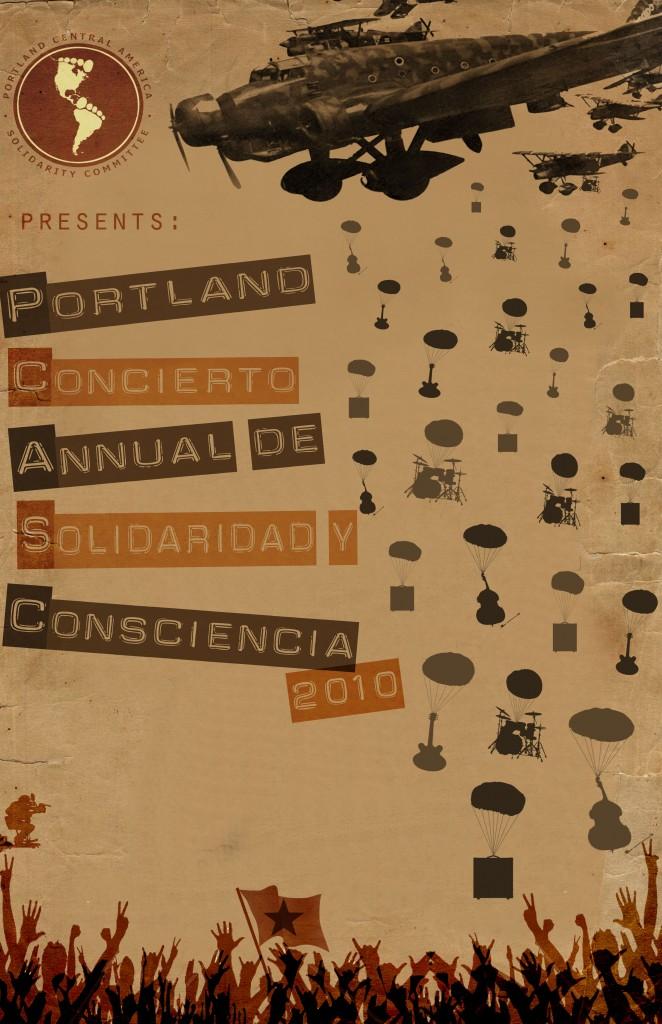 Draft flyer for summer concert