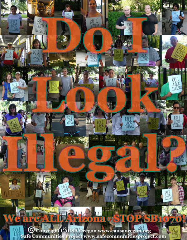 Do I Look Illegal?