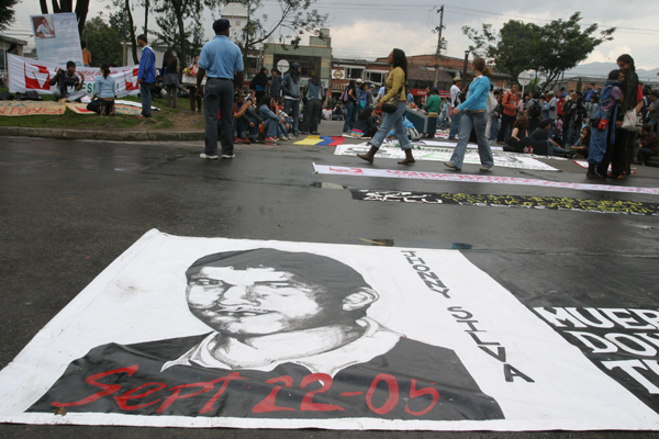 Colombia: a Father Seeks an End to Impunity