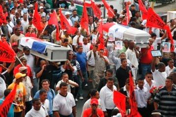 The Struggle of the banana workers in Bocas de Toro (Panama)