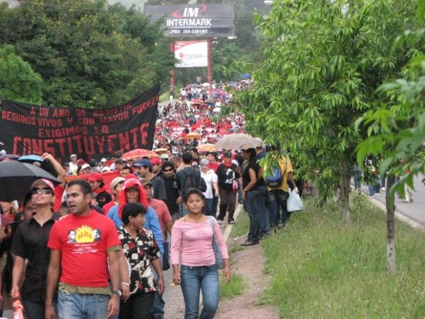 Honduras: Resistance to Coup Continues