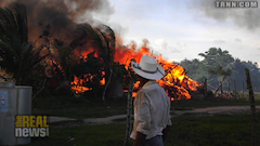 Honduran Police Burn Community to the Ground