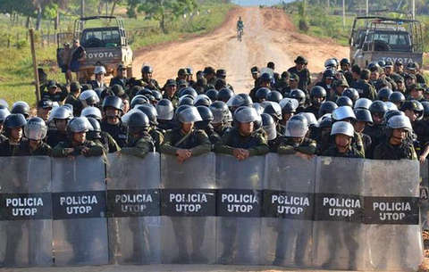 Bolivia suspends road project after indigenous protest