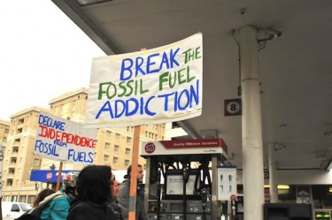 Break the fossil fuel addiction